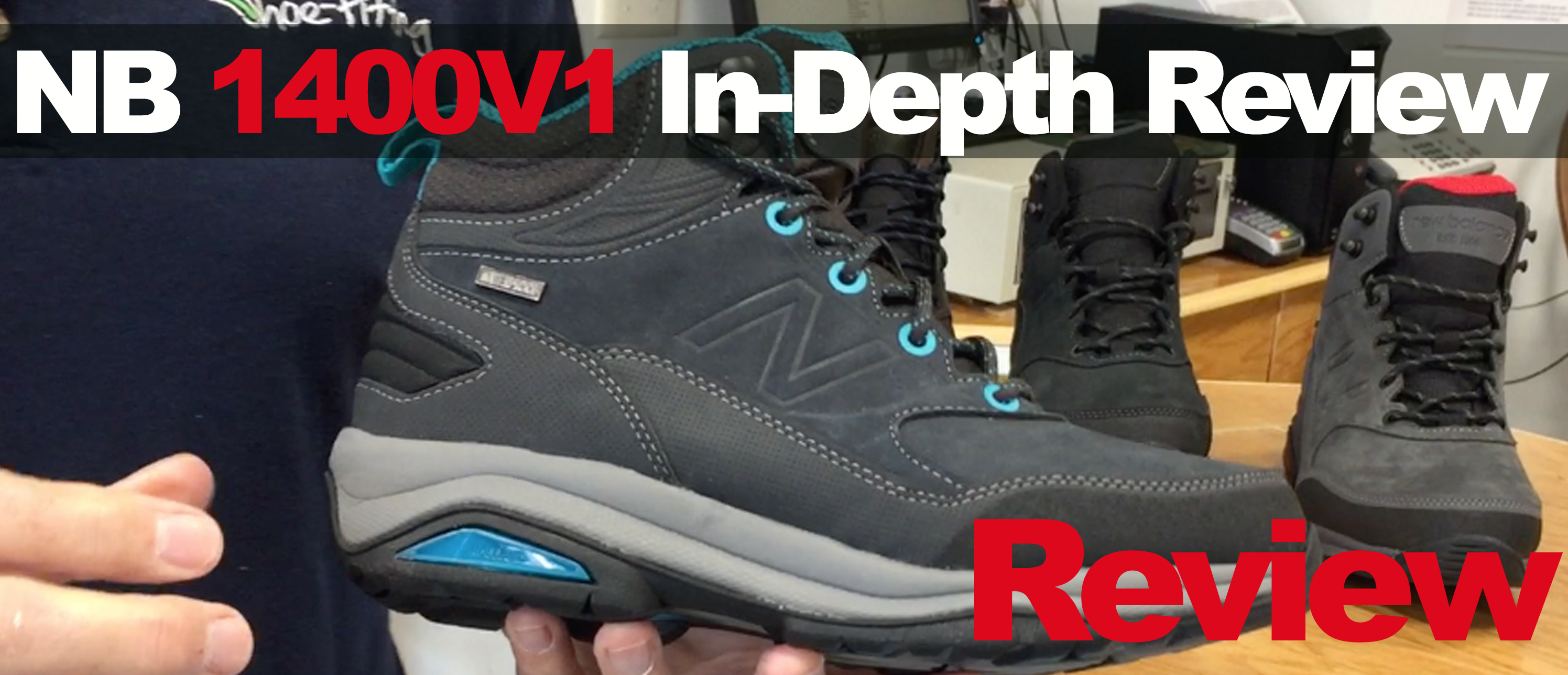 The New Balance 1400V1 Hiking Boot Review - Frank's Custom Shoe ...